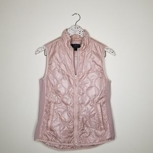 J.Crew》 light Rose Gold Quilted Puffer Vest